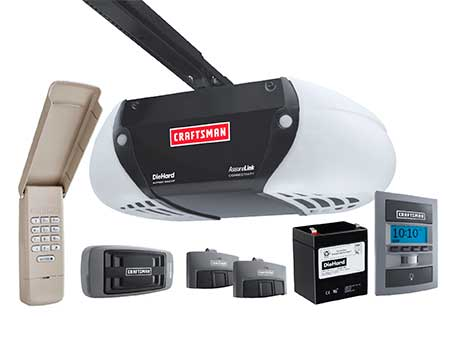 Craftsman Garage door opener Boca Raton, Broward and West Palm Beach